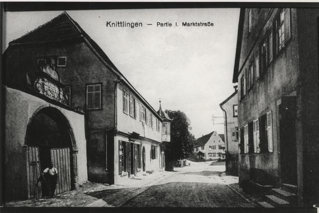 Knittlingen - Marktstraße