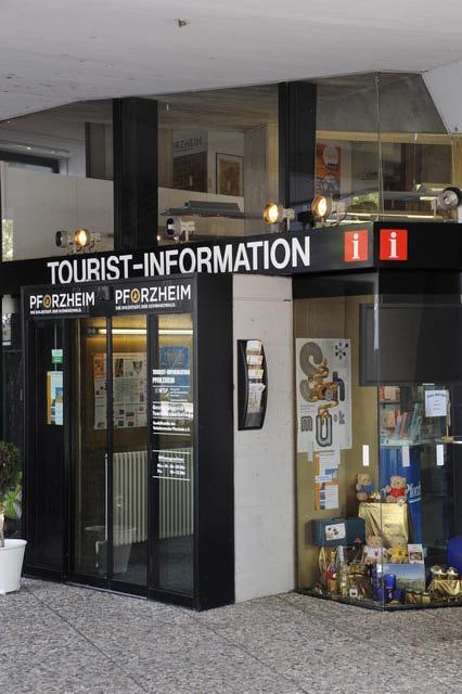 Die Tourist-Information Pforzheim