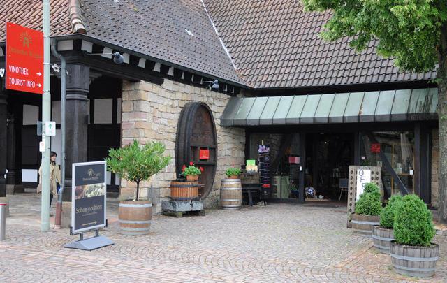 Das Tourismusbüro am Deutschen Weintor