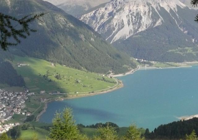 Sommeridylle am Reschensee