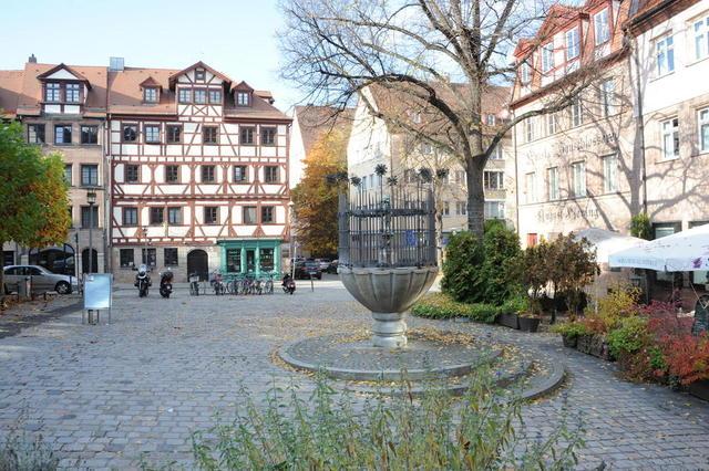 Der Unschlittplatz in Nürnberg