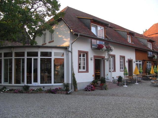 Das Landcafé Walnuss im Heidelberger Stadtteil Grenzhof