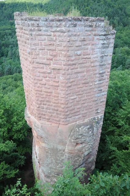 Der Turm der Wasigenburg