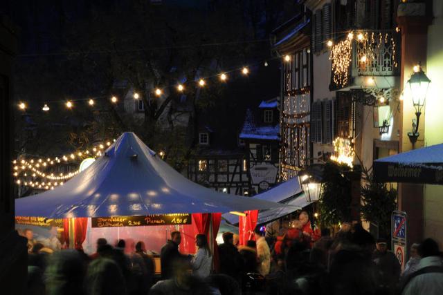 Weihnachtsmarkt Weinheim