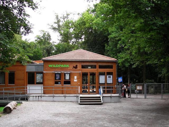 Wildpark-Eingang
