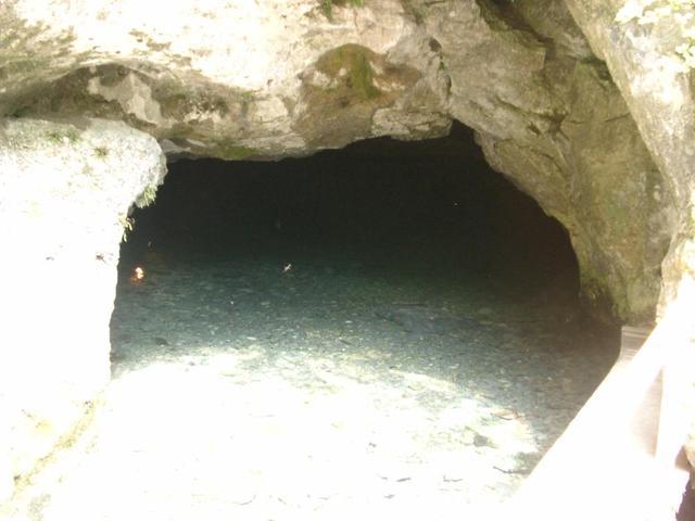 Einfahrt zur Wimsener Höhle