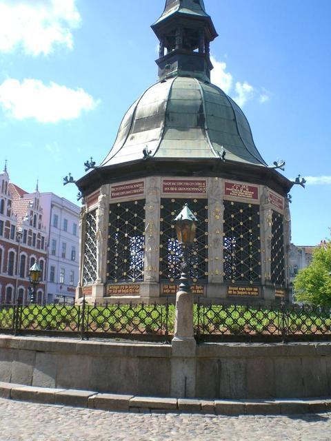 Die Wasserkunst in Wismar