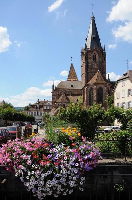 Die Abtei Saints  Pierre et Paul in Wissembourg