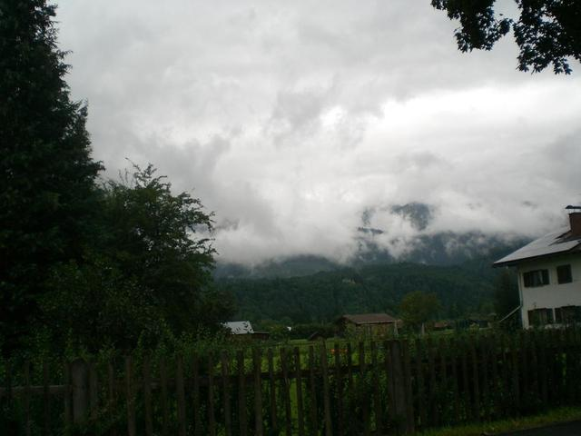 Wolken-Szenario in Garmisch-Partenkirchen