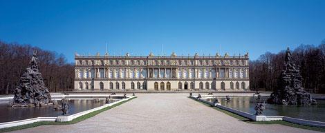 Das prächtige Schloss Herrenchiemsee