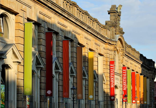 Dresdens Markthalle