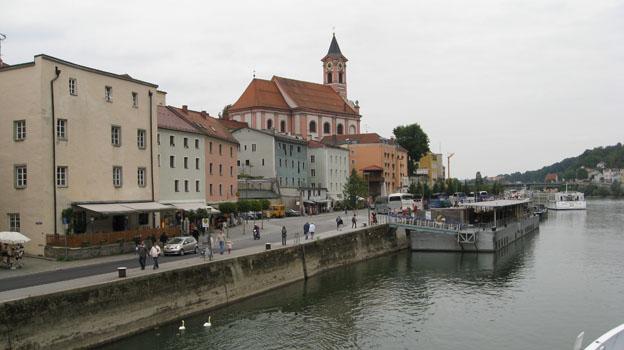 Passau, Schiffsanleger