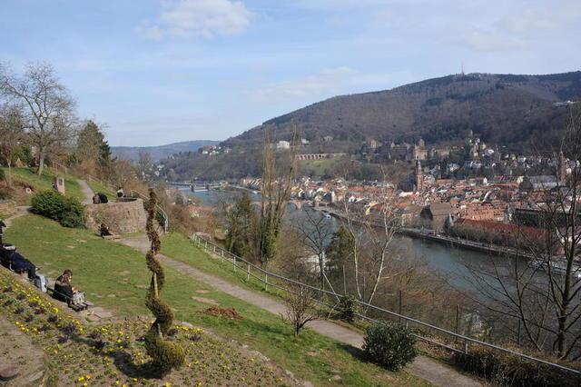 Heidelberg im Neckartal