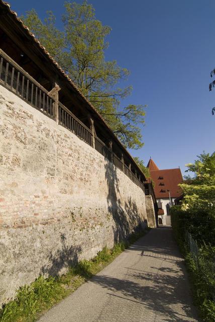 Historische Stadtmauer Kaufbeuren im Allgäu