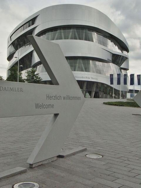 Willkommen im Mercedes Benz Museum